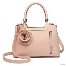 Miss Lulu London LG1847-MISS LULUbőr rózsa HANGING ORnévNT kézi táska rózsaszín