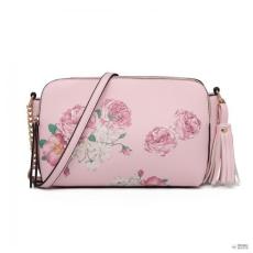 Miss Lulu London LG1868F-MISS LULUbőr virágos bojt kézi táska válltáska  táska rózsaszín 8f35841e61