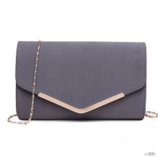 Miss Lulu London LH1756 GY - Miss Lulu Envelope Táska Clutch táska szürke