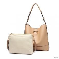 491e177ba934 Miss Lulu London LT1917 - Miss Lulu 2 darab Bucket bevásárló táska táska  szett - Khaki