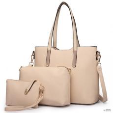 Miss Lulu London LT6648 - Miss Lulu három darab bevásárló táska válltáska táska és Táska Clutch