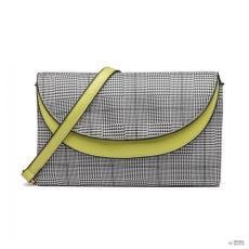 Miss Lulu London LT6818-MISS LULULATTICE bőr kézi táska dupla réteg válltáska táska zöld