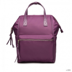 Miss Lulu London LT6840-MISS LULU PORTABLE vízPROOF hátizsák táska táska lila