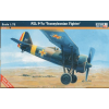 Mistercraft PZL P-7 Transylvanian Fighter repülő makett Mistercraft B-37