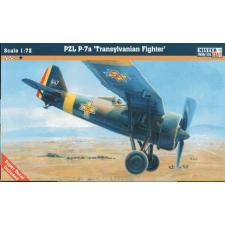 Mistercraft PZL P-7 Transylvanian Fighter repülő makett Mistercraft B-37 makett figura