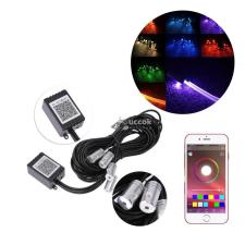 Mobil app-al vezérelhető autós beltéri LED világítás autós kellék
