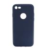 Mobilpro Szilikon tok iPhone 7 kompatibilis védőtok sötétkék szín