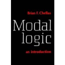 Modal Logic – Brian F. Chellas idegen nyelvű könyv