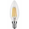 Modee E14 LED izzó Retro filament (7W/360°) Gyertya - meleg fehér