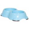 ,Moderna, Smarty Bowl 1 dupla gumitalpas tál (világoskék)