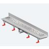 Mofém MOFÉM Linear MLS-850 KF Sarok zuhanyfolyóka minta nélküli ráccsal