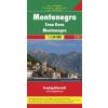 Montenegro autótérkép - f&b AK 0713