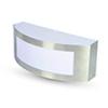 - Moon Steel-1 kültéri oldalfali lámpa (E27)
