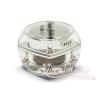 Moonbasanails Színváltó zselé 5ml csillámos ezüst #022
