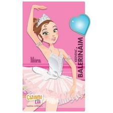 Móra Ferenc Ifjúsági Könyvkiadó Kedvenc balerinám - Matricás zsebkönyve gyermek- és ifjúsági könyv