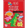 Móra Kiadó Menő dinók - matricás foglalkoztatókönyv