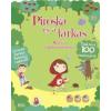 Móra Kiadó Piroska és a farkas - Matricás foglalkoztatókönyv