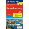 Moselradweg kerékpártúra térkép - Kompass FTK 7007