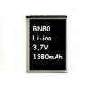 Motorola BN80 kompatibilis utángyártott akkumulátor (1380mAh, Li-ion)*