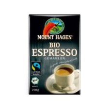 Mount Hagen bio őrölt Espresso kávé, 250 g biokészítmény