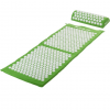 MOVIT akupresszúrás matrac 130 x 50 cm, párnával - zöld