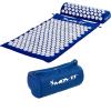 MOVIT akupresszúrás matrac 75 x 44 cm, párnával - kék