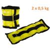 MOVIT bokasúly, 2 x 0,5 kg - sárga
