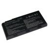 MSI GT680 6600 mAh 9 cella fekete notebook/laptop akku/akkumulátor utángyártott