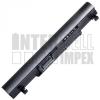 MSI Wind U160DX Series 2200 mAh 3 cella fekete notebook/laptop akku/akkumulátor utángyártott