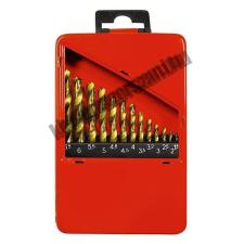 MTX fémfúró készlet 1.5-6.5mm HSS fém kazettában 13db fúrószár