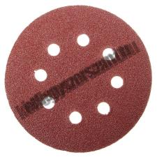 MTX Velcro csiszoló korong perforált, P 150 125 mm Mtx barkácsolás, csiszolás, rögzítés
