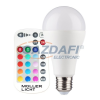 Müller Licht MÜLLER LICHT 400349 LED fényforrás, E27 10W RGB