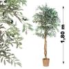 Műnövény - Oliva fa 180 cm