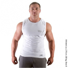 MUSCLE  S/L TEE (PURE WHITE) [XXXL] férfi póló