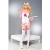 Music Legs Playful Kitty jelmez