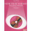 Music Sales New Film Themes - Playalong for Violin