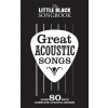 Music Sales The Little Black Songbook: Great Acoustic Songs
