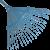 MUTA pázsitseprű pálcásfogú (10284)