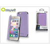 Muvit Apple iPhone 6/6S flipes tok - Muvit Crystal Folio - lila