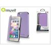 Muvit Apple iPhone 6/6S flipes tok - Muvit Crystal Folio - lila