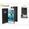Muvit Apple iPhone 6 Plus/6S Plus flipes tok kártyatartóval - Muvit Wallet Folio - black