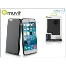 Muvit Apple iPhone 6 Plus/6S Plus hátlap - Muvit miniGel - black tok és táska