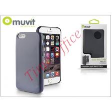 Muvit Apple iPhone 6 Plus hátlap - Muvit Back Thin Case - blue tok és táska