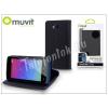 Muvit LG H220 Joy flipes tok kártyatartóval - Muvit Wallet Folio - black