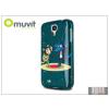 Muvit Samsung i9500 Galaxy S4 hátlap - Muvit Kukuxumusu Wolf Fiction