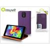 Muvit Samsung SM-G900 Galaxy S5 flipes tok kártyatartóval - Muvit Slim and Stand - purple/orange