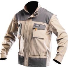 MV bézs NEO kabát 81-310 48-58 méretek 2 az 1-ben lezippzározható újjak