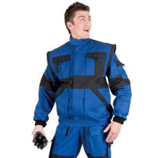 MV kék/fekete MAX kabát 44-68