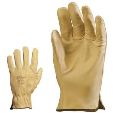 MV kesztyű 2208, 2209, 2210 ,2211 , sárga színmarha  tenyér  és kézhát    8-11 méret