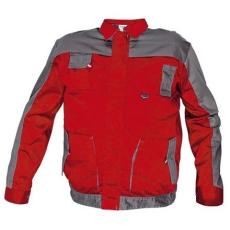 MV piros/szürke kabát MAX EVO 46-64